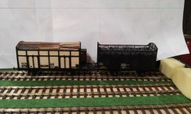 Wagons Coke BOIS et toles AD Train Models