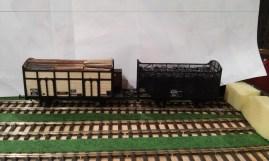 Wagons Coke BOIS et toles AD Train Models