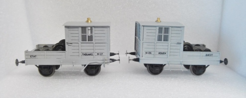 Wagon Secours Ouest - AD TRAINS MODELS